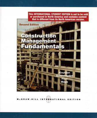 Construction Management Fundamentals 2/e