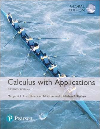 Calculus with Applications 11/e