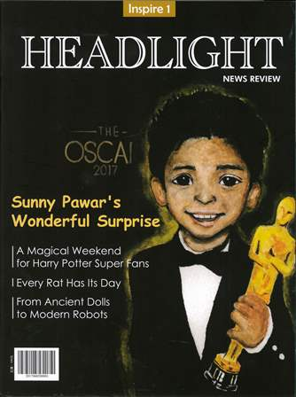 Headlight (Inspire 1) Sunny Pawar's Wonderful Surprise with CD/1片