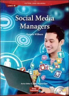 Future Jobs Readers 1-4: Social Media Managers with Audio CD