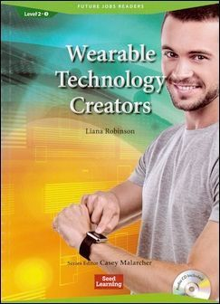 Future Jobs Readers 2-3: Wearable Technology Creators with Audio CD