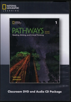 Pathways (1): Reading, Writing, and Critical Thinking 2/e Classroom DVD/1片 and Audio CD/1片 Package