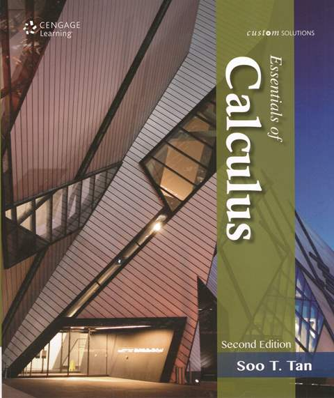 Essentials of Calculus 2/e