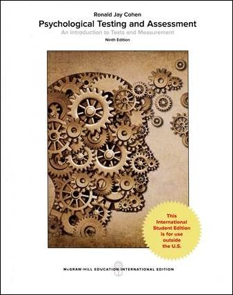 Psychological Testing and Assessment: An Introduction to Tests and Measurement 9/e