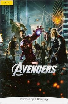 Pearson English Readers Level 2 (Elementary): Marvel's The Avengers with MP3 Audio CD/1片