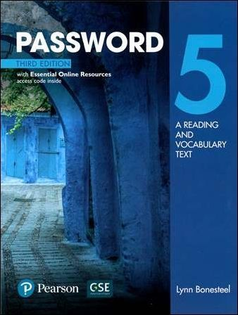Password 3/e (5): A Reading and Vocabulary Text with Essential Online Resources