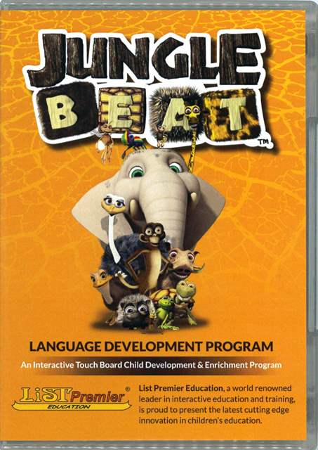 Jungle Beat Child Development and Enrichment Program (DVD/1片 + Teacher's Manual CD/1片 + Additional Classroom Activities CD/1片 ) (Ages 10-16)