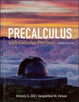 Precalculus with Calculus Previews 6/e