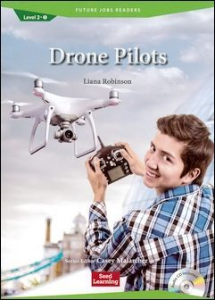 Future Jobs Readers 2-1: Drone Pilots with Audio CD