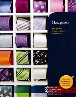 Management 1/e(Cengage Technology Edition)
