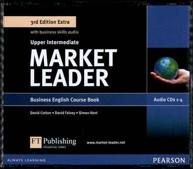 Market Leader 3/e Extra (Upper-Intermediate) Audio CDs/4片