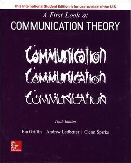 A First Look at Communication Theory 10/e