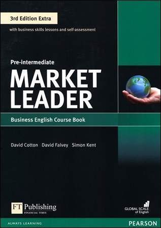 Market Leader 3/e Extra (Pre-Intermediate) Course Book with DVD-ROM/1片