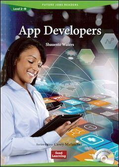 Future Jobs Readers 2-2: App Developers with Audio CD