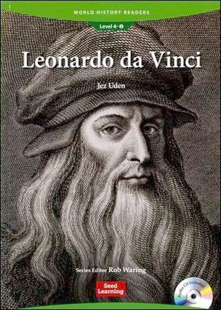 World History Readers (4) Leonardo da Vinci with Audio CD/1片