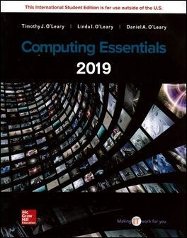Computing Essentials 2019 (Complete Edition)