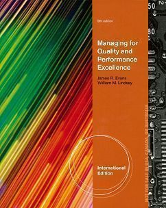 Managing for Quality and Performance Excellence 9/e