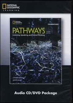 Pathways (Foundations): Listening, Speaking, and Critical Thinking 2/e Audio CDs/2片 and DVD/1片 Package