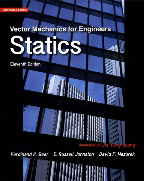 Vector Mechanics for Engineers: Statics 11/e (Annotated Edition) 導讀本