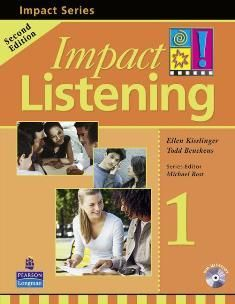 Impact Listening 2/e (1) Student Book  with CD/1片