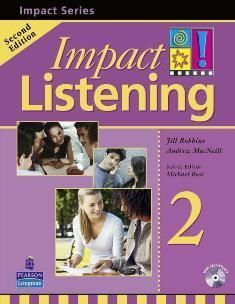 Impact Listening 2/e (2) Student Book with CD/1片