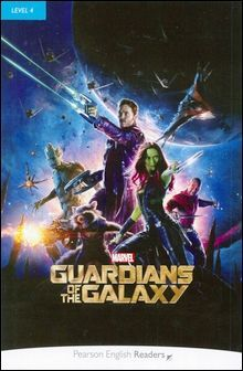 Pearson English Readers Level 4 (Intermediate): Marvel's The Guardians of the Galaxy with MP3 Audio CD/1片