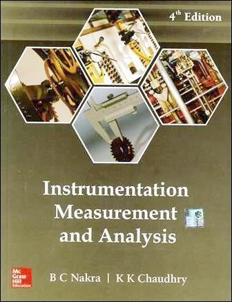 Instrumentation, Measurement and Analysis 4/e