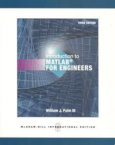 Introduction to MATLAB for Engineers 3/e