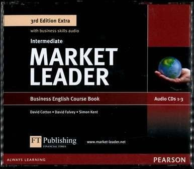 Market Leader 3/e Extra (Intermediate) Audio CDs/3片