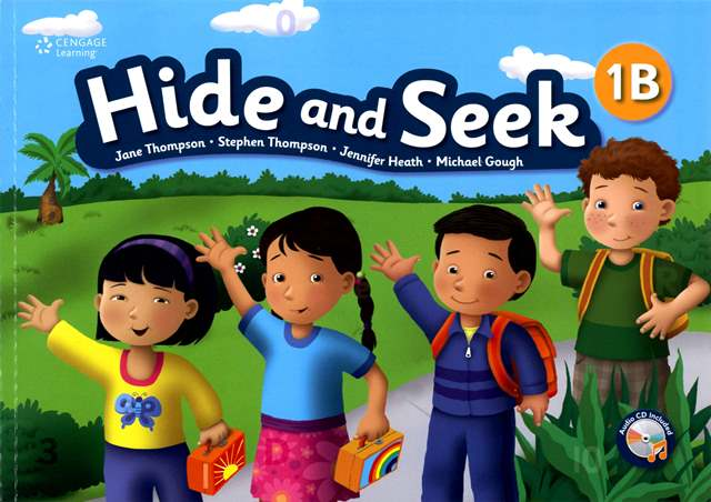 Hide and Seek (1B) with Activity Book and Audio CDs/2片