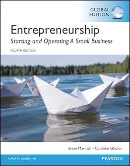 Entrepreneurship: Starting and Operating A Small Business 4/e