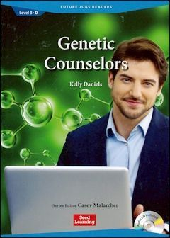 Future Jobs Readers 3-4: Genetic counselors with Audio CD