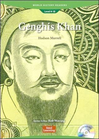 World History Readers (4) Genghis Khan with Audio CD/1片