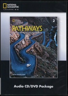 Pathways (2): Listening, Speaking, and Critical Thinking 2/e Audio CDs/3片 and DVD/1片 Package