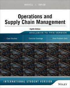 Operations and Supply Chain Management 8/e