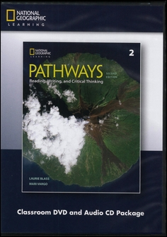 Pathways (2): Reading, Writing, and Critical Thinking 2/e Classroom DVD/1片 and Audio CDs/2片 Package