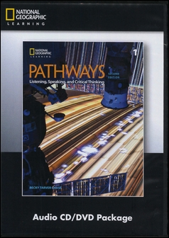 Pathways (1): Listening, Speaking, and Critical Thinking 2/e Audio CDs/3片 and DVD/1片 Package