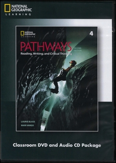 Pathways (4): Reading, Writing, and Critical Thinking 2/e Classroom DVD/1片 and Audio CDs/2片 Package
