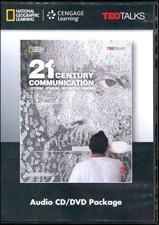 21st Century Communication (3) Audio CDs/2片 and DVD/1片