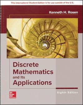 Discrete Mathematics and Its Applications 8/e