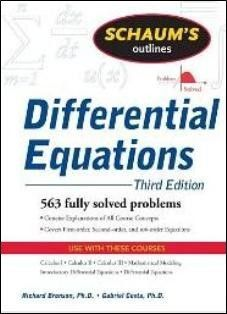 Schaum's Outline of Differential Equations 3/e