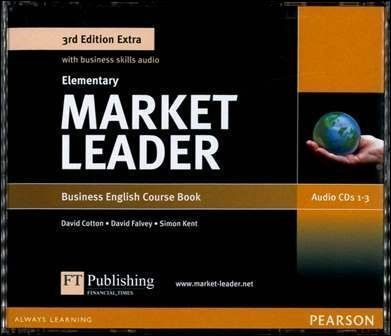 Market Leader 3/e Extra (Elementary) Audio CDs/3片