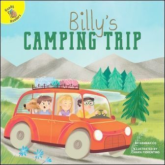 Ready Readers: Billy's Camping Trip (Family Time)