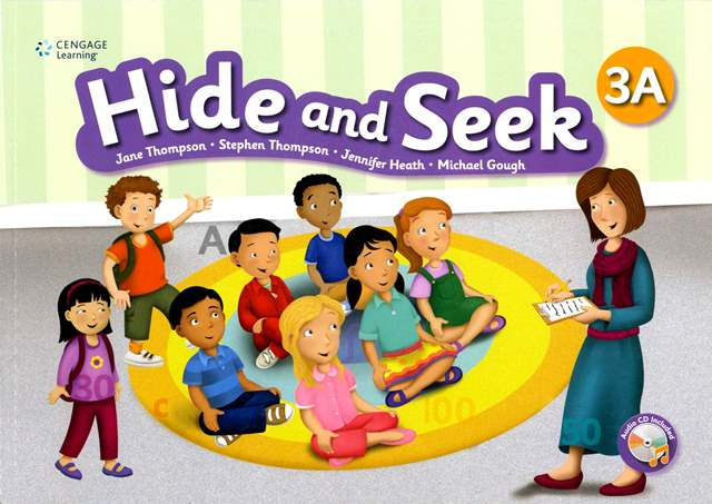 Hide and Seek (3A) with Activity Book and Audio CDs/2片