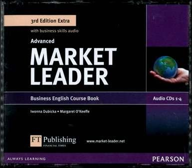 Market Leader 3/e Extra (Advanced) Audio CDs/4片