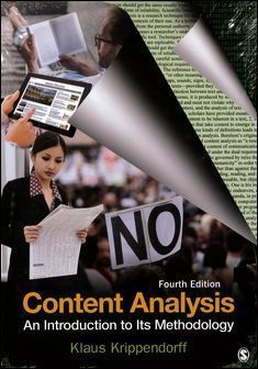 Content Analysis: An Introduction to Its Methodology 4/e