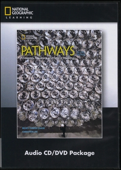 Pathways (3): Listening, Speaking, and Critical Thinking 2/e Audio CDs/3片 and DVD/1片 Package
