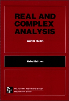 Real and Complex Analysis 3/e