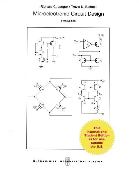 Microelectronic Circuit Design 5/e