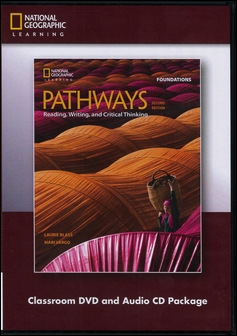 Pathways (Foundations): Reading, Writing, and Critical Thinking 2/e Classroom DVD/1片 and Audio CD/1片 Package